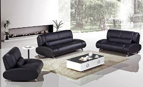 Texas Leather Sofa Incredible Modern Black Leather Sofa With Furniture Modern Black