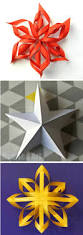 3d Paper Stars From Post It Notes Paper Stars 3d Paper And 3d