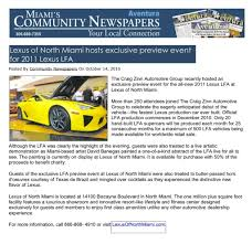 miami lexus for sale lexus of north miami u2013 lexus news and offers
