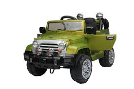 jeep green buy baybee baybee voyager battery operated jeep military green