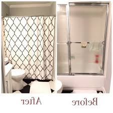 Removing Shower Doors Replace Shower Door With Curtain Pmcshop