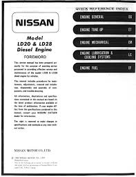 nissan ld20 u0026 ld28 manual page 0 001