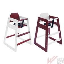 chaise haute bebe bois chaise haute enfant en bois pour chr chaise haute professionnelle