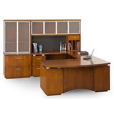 Modern Desk Set Dallas Office Furniture Wood U Shape Desk Set New Used Inventory