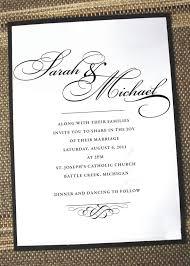 dreaded simple wedding invitation wording theruntime com