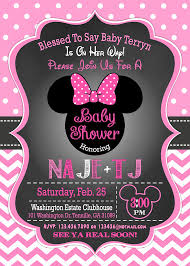 minnie mouse baby shower invitations minnie mouse baby shower invitation minnie mouse baby shower