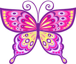 pink butterfly vector illustration stock vector illustration of