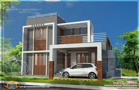 Small Indian House Plans Modern flat roof design