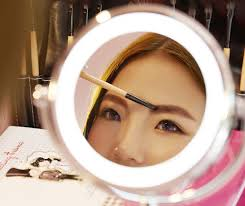 lighted magnifying makeup mirror best lighted magnifying makeup mirrors