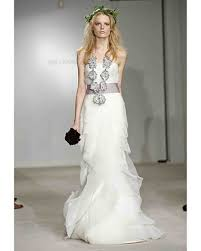 wedding dresses 2009 vera wang 2009 bridal collection martha stewart weddings