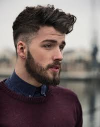 Hairstyle For Men Short Hair by Short Hairstyles For Men With Beard Hairstyle Picture Magz