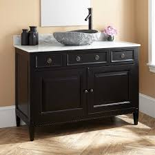 Bathroom Vanities For Vessel Sinks by Black Bathroom Vanity With Vessel Sink 275178 L Vanity Cabinet