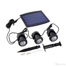 Solar Lights For Ponds by 2017 Bsv Sl318 Solar Panel With Powered 3 Bulbs Submarine