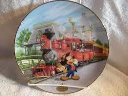 40th anniversary plate disneyland railroad porcelain 40th anniversary plate ebay