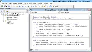how to make a cell flash in excel and why i wouldn u0027t do it