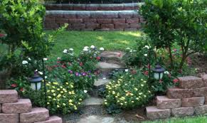 landscaping ideas for a hill in backyard hill landscaping ideas