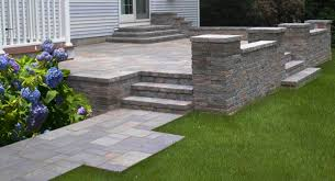 Retaining Wall Patio Design Image Detail For Patio Style With Contemporary Retaining Wall