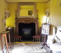shabby chic fireplace and gold paint effect blog by lee simone