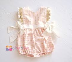 Pink And Gold Bathroom by Baby Romper Pink And Gold Boutique Baby