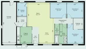 plan maison 6 chambres plain pied plan maison en l plain pied awesome plan maison 6 chambres plain