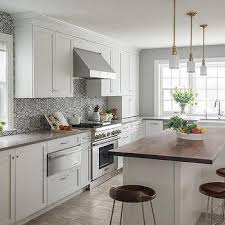 pics of kitchens with white cabinets and gray walls grey kitchen cabinets white countertops design ideas
