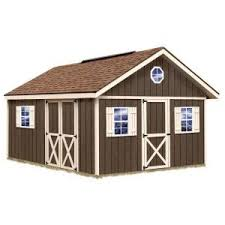 Best Barns Millcreek Best Barns New Castle 16 Ft X 12 Ft Wood Storage Shed Kit