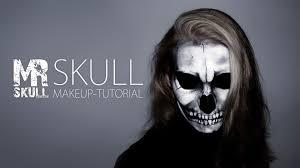 halloween makeup tutorial skeleton skull makeup tutorial youtube