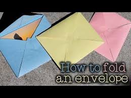 Origami With Letter Size Paper - 25 unique letter size envelope ideas on size of