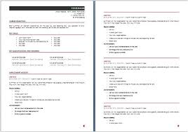 Resume Template Free Download Australia Resume Template Au Resume Templates Australia Professional Resume