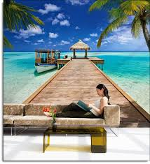 wall decal huge wall decal thousands pictures of wall beach resort wall mural 8 921