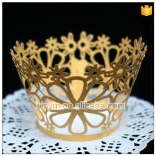 online get cheap homemade party decorations aliexpress com disposable pearl paper yellow diy homemade form for cake decorating cups cupcake wrapper 12 pcs for baby shower home party