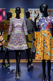 how dutch wax fabrics became a mainstay of african fashion