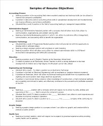 Samples Of Resumes For Administrative Assistant Positions by Example Of Resume Objective Sample Resume Objective Example 7