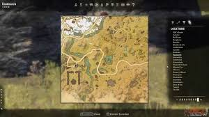 eastmarch ce treasure map eastmarch treasure map iv location the elder scrolls