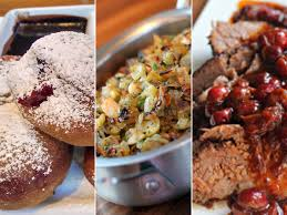 thanksgiving today add thanksgivukkah mash ups to turkey day brisket with cranberry