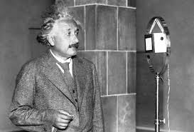 What Year Did Thomas Edison Invent The Light Bulb Albert Einstein Congratulating Thomas Edison Over Shortwave Radio