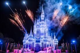 watch as queen elsa transforms cinderella castle for the holidays