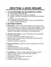 How To Type A Resume For A Job by Resume Template Procedure Word How To Write A Standard Operating