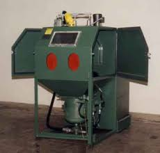 sandblaster cabinet for sale abrasive blast cleaning equipment from kelco sales and engineering co