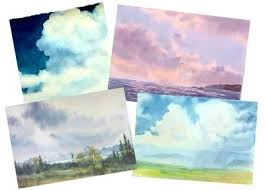painting watercolor skies watercolor dvd clouds sunsets and more