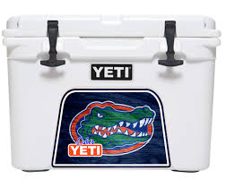 florida gators yeti roadie or tundra cooler wrap decal