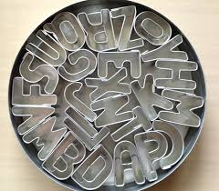 best 25 alphabet cookie cutters ideas on alphabet