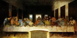 images for the last supper original painting by leonardo da