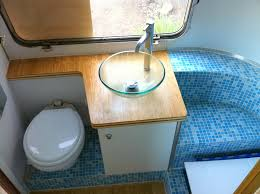 lightweight rv tiled bathroom glamping and emergency