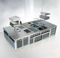 stainless steel kitchen island commercial royal chef serie