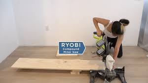 Miter Saw For Laminate Flooring Ryobi Nation