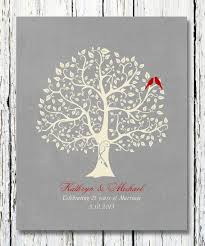 25 wedding anniversary gift 25th silver wedding anniversary tree gift anniversary gift