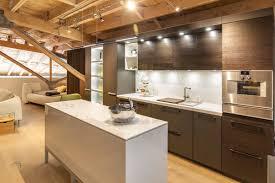 neolith fm distributing modern kitchen island cabinet and range