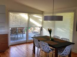 Ikea Restyle Modern Hollywood Regency by Solar Shades With White Aluminum Fascia To Compliment The Sill