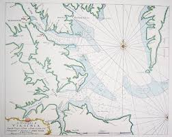 City Map Of Virginia by Maps Black Dog Gallery